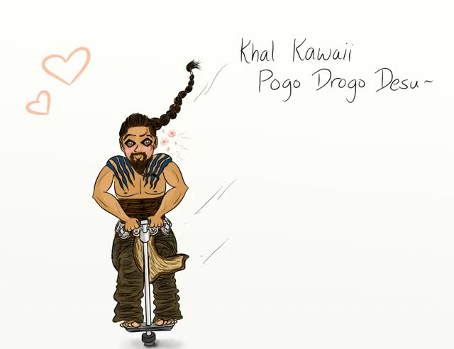 Watch and share 6 (Khal Drogo Rides The Pogo.gif) By Floraltattoo GIFs on Gfycat