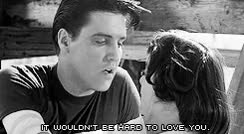 Watch and share Elvis Presley Kissing GIFs on Gfycat