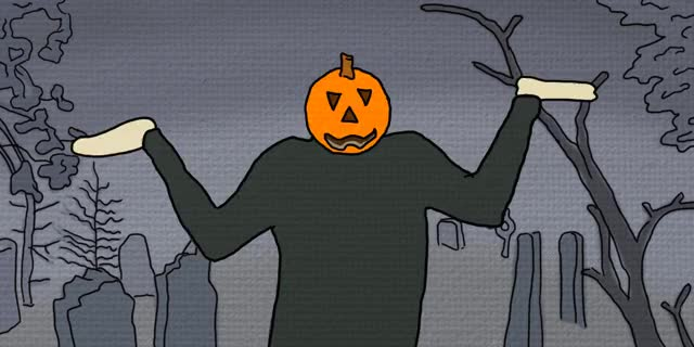 Watch and share Dancing Pumpkin animated stickers on Gfycat