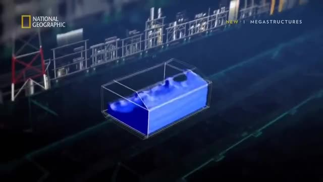 Watch #PETRONAS FLNG SATU | PETRONAS First Floating LNG (liquefied natural gas) Facility GIF on Gfycat. Discover more All Tags, Petronas, construction, constructor, description, lng, malaysia, megastructures GIFs on Gfycat