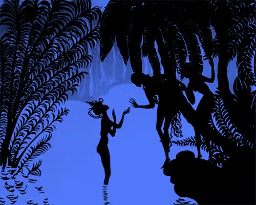 Watch and share The Adventures Of Prince Achmed (German: Die Abenteuer Des Prinzen Achmed) Is A 1926 German Animated Fairytale Film By Lotte Reiniger. It Is The Oldest Surviving Animated Feature Film GIFs on Gfycat