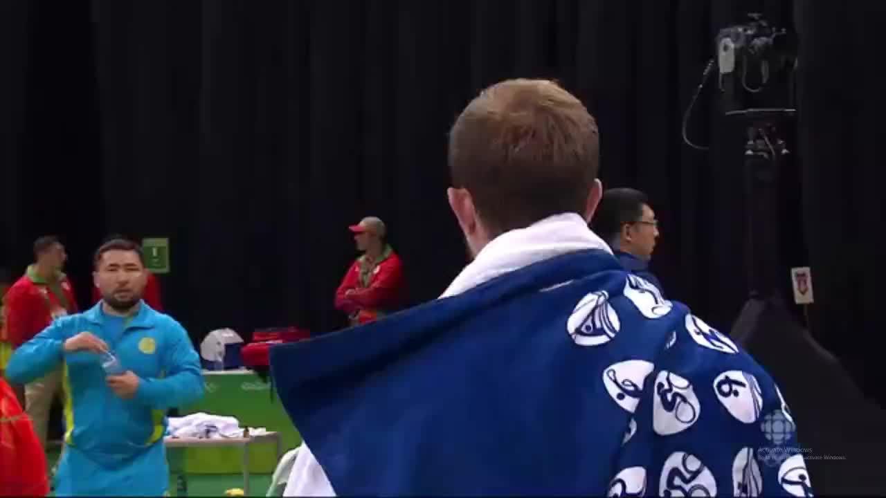 olympics, weightlifting, Denis Ulanov's Weightlifting Baptism GIFs