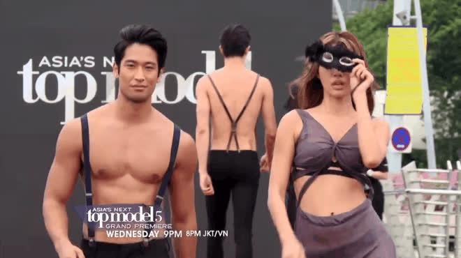 Minh Tú ngất xỉu ngay tập đầu Asias Next Top Model?