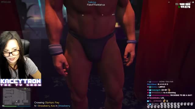 GTA V ROLEPLAY - Mary Jane gets a LAP DANCE!