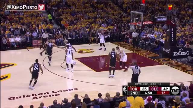 Watch and share Toronto Raptors Vs Cleveland Cavaliers - Full Game Highlights | Game 2 | May 3, 2017 | NBA Playoffs GIFs on Gfycat