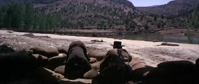 Watch The Good The Bad and The Ugly bridge scene GIF on Gfycat. Discover more Bridge, explosion, movie GIFs on Gfycat