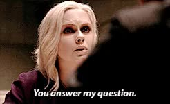 Watch and share Rose Mciver GIFs and Question GIFs on Gfycat