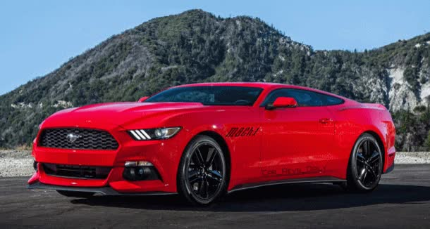 Watch and share Future Car Renderings – 2017 Ford Mustang Mach 1 GIFs on Gfycat