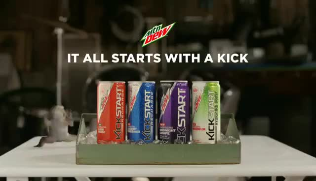 Mtn Dew Kickstart: Freak Chain