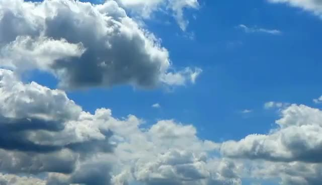 Watch and share Облака Плывут. Небо В Облаках. Плывущие Облака. Футажи Для Видеомонтажа GIFs on Gfycat