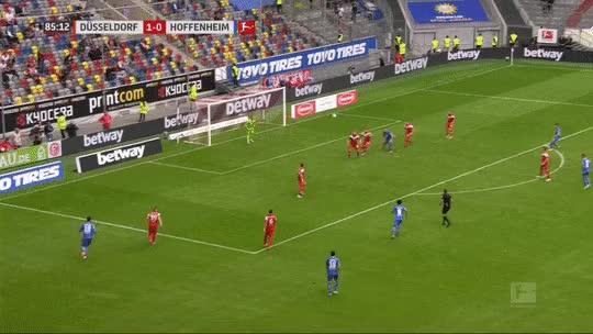 Watch and share -@ReissNelson9s Goal On His @tsghoffenheim Debut Against Fortuna Dusseldorf. Afc GIFs on Gfycat