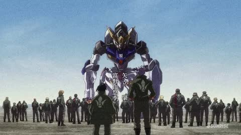 Watch and share Gundam Iron Blooded Orphans GIFs on Gfycat