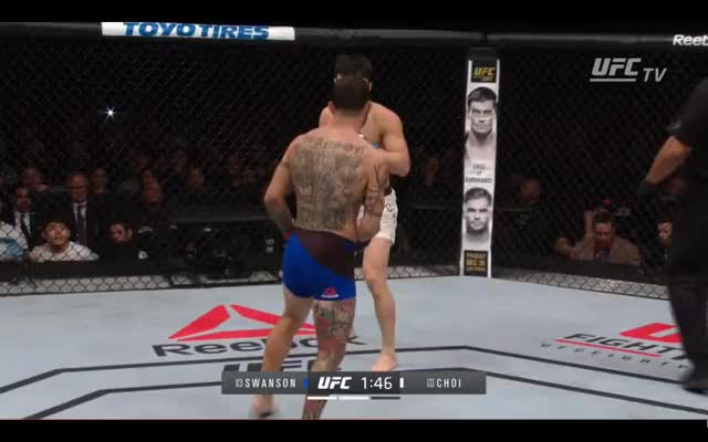 Watch cub swanson GIF by @rorymacdonaldsnose on Gfycat. Discover more MMA GIFs on Gfycat