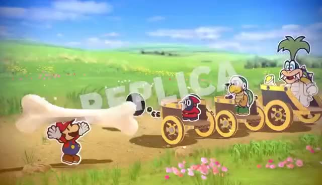 Watch and share Using Replicas Against The Koopalings - Paper Mario: Color Splash GIFs on Gfycat