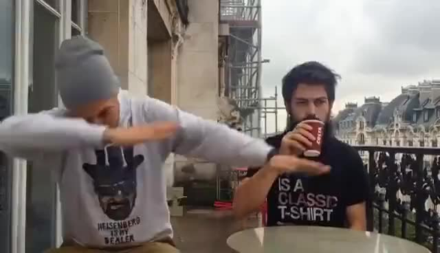 Watch and share MCFLY & CARLITO - J'EFFECTUE LE DAB GIFs on Gfycat