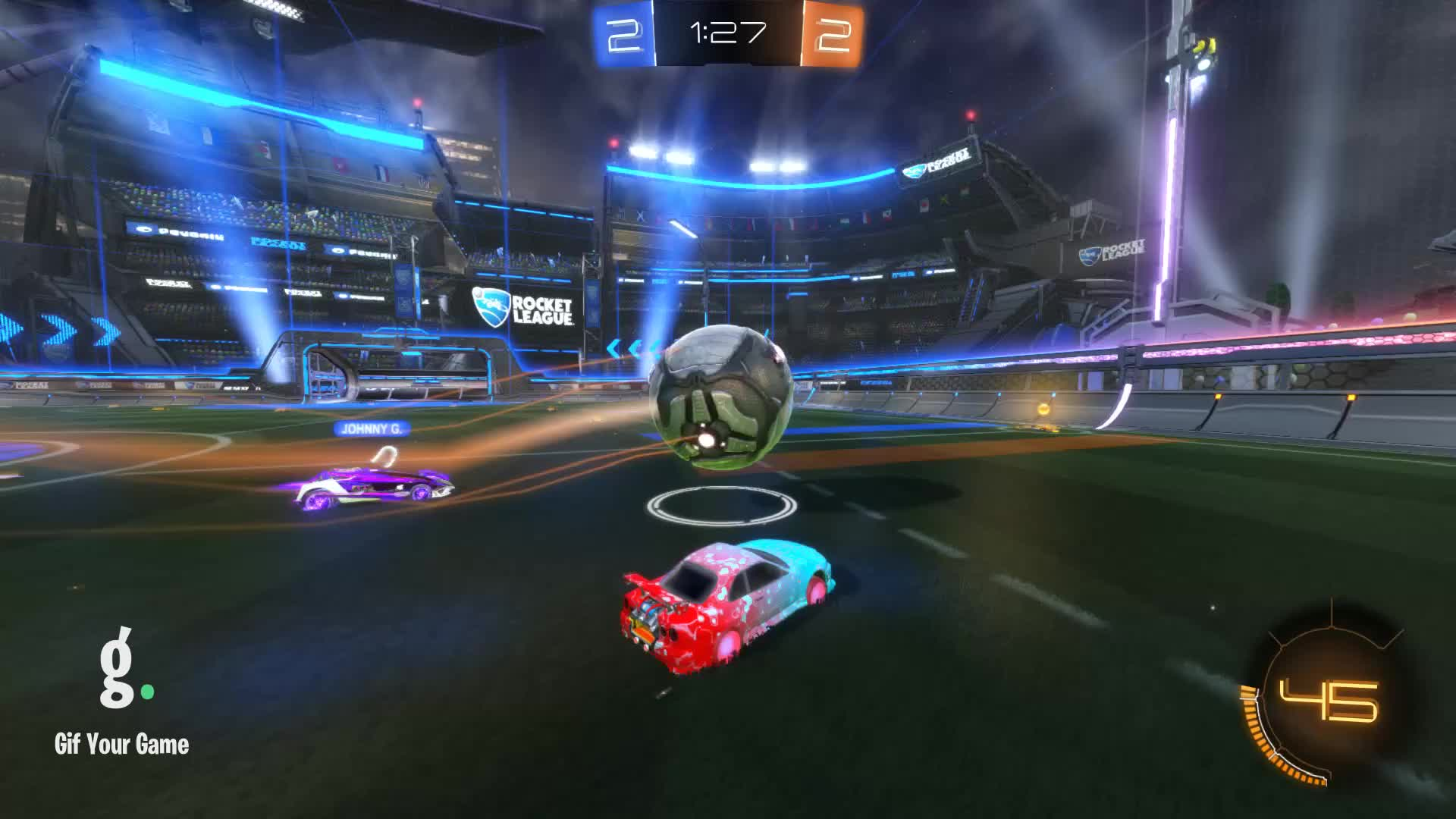 Gif Your Game, GifYourGame, Goal, Kryptiç, Rocket League, RocketLeague, Goal 5: Kryptiç GIFs