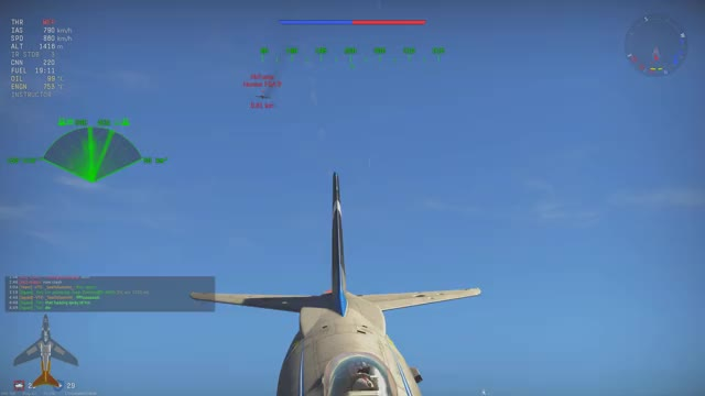 Watch and share War Thunder - Semi Invisible Missile GIFs by proust_wt on Gfycat