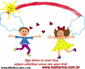 Watch and share Feliz Dia Das Crianças animated stickers on Gfycat