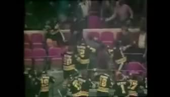 Watch and share Thirty Year Anniversary Of Mike Milbury's Shoe Incident At M GIFs on Gfycat