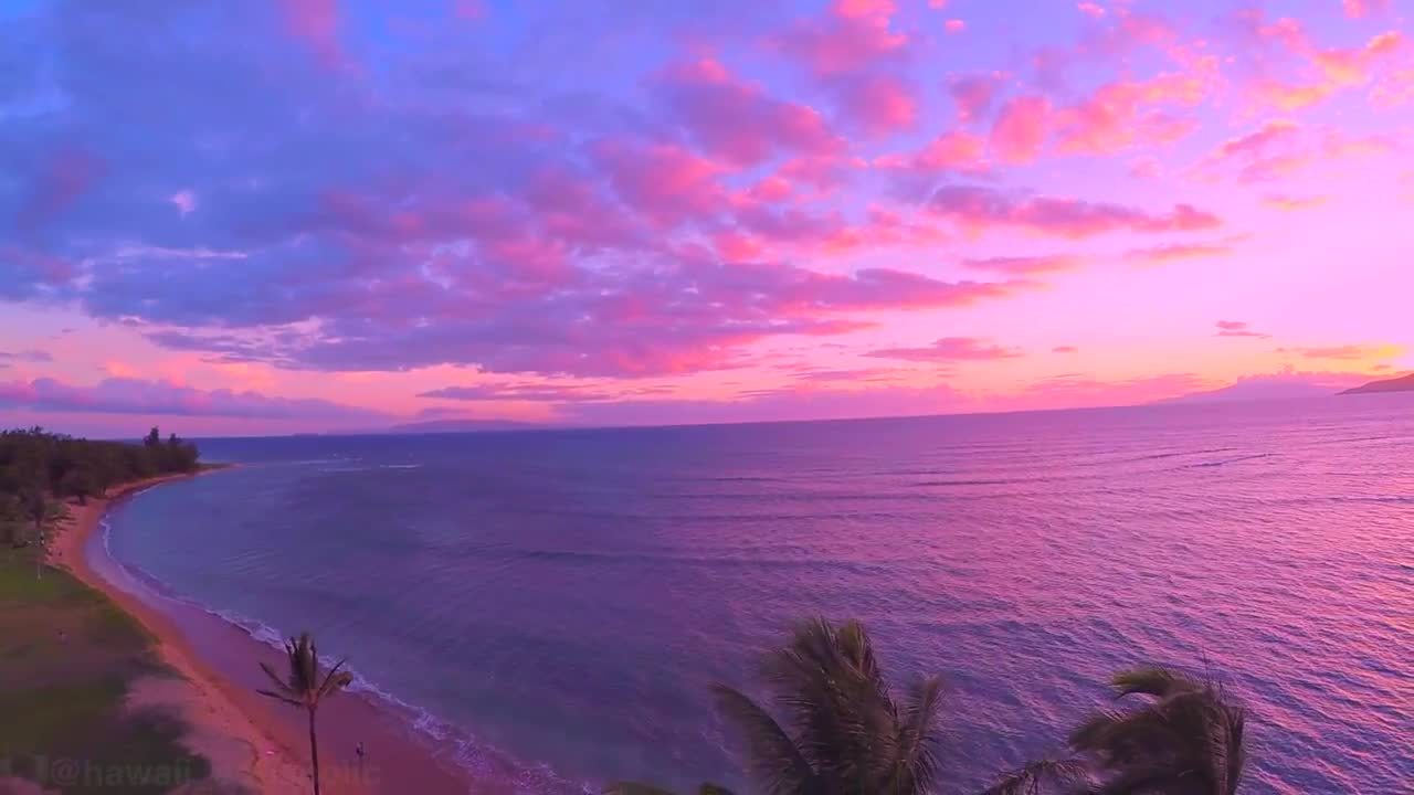 cyrus perry, earthgifs, funny, Maui Hawaii GoPro Drone Sunset 2015 GIFs