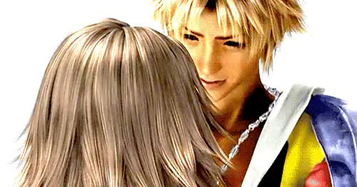 Watch this GIF on Gfycat. Discover more ffx, ffx2, happy times, hd remaster, nostalgia GIFs on Gfycat