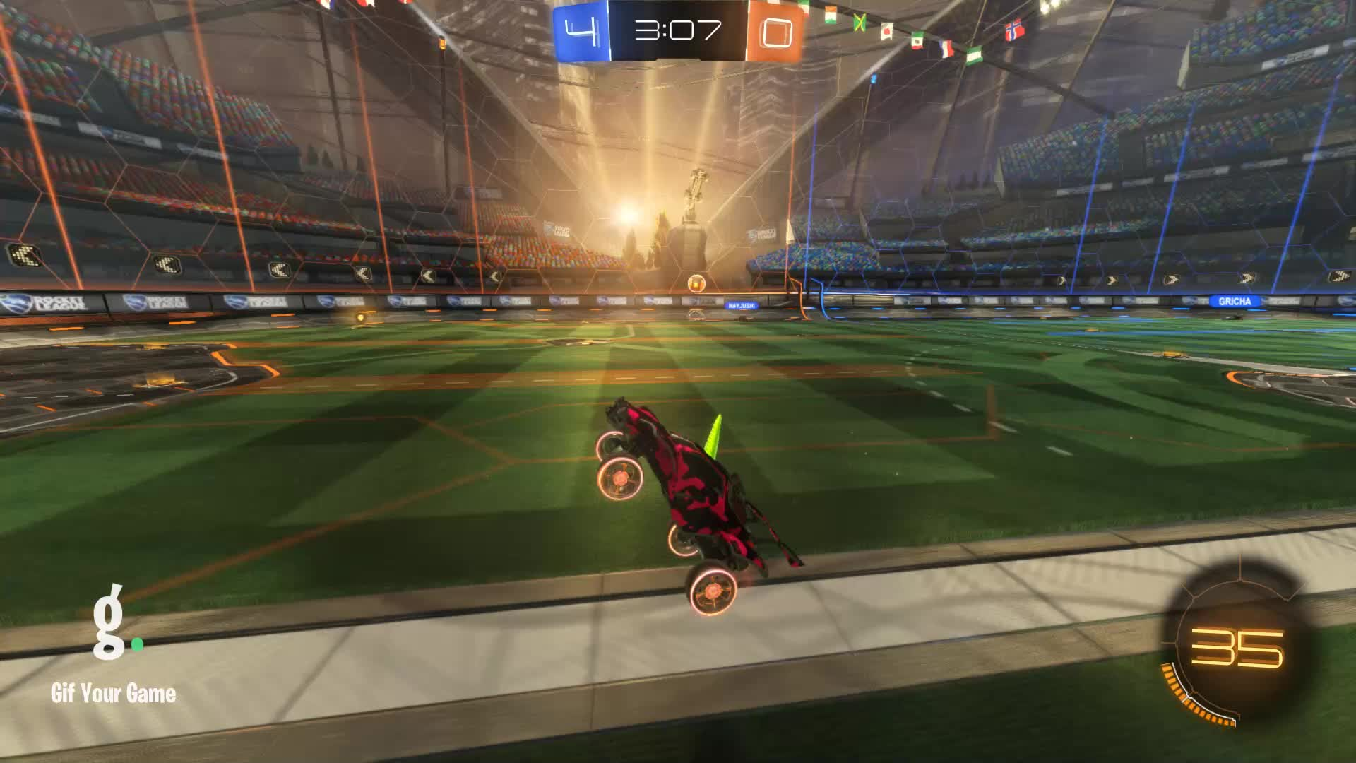 CROSSFIT JESUS, Gif Your Game, GifYourGame, Rocket League, RocketLeague, Assist 3: CROSSFIT JESUS +5 GIFs