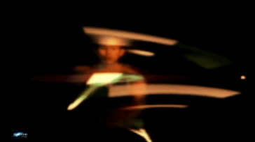 49 Double Nunchucks Laser blue artic en mode Bruceli Visionary - Tony Nguyen SF GIFs