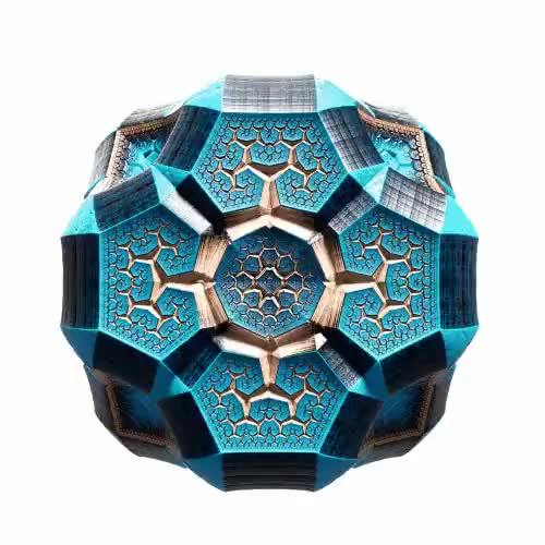 Watch Fractal tesseract GIF on Gfycat. Discover more related GIFs on Gfycat