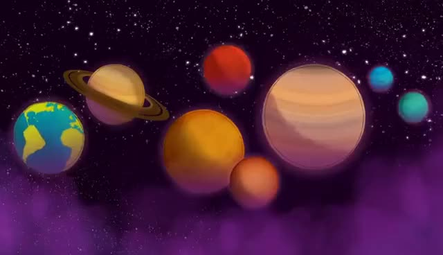 planets exploding gif - 640×368