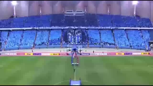 Watch Amazing Mortal Kombat Tifo By Al-Hilal  27-5-2015 GIF on Gfycat. Discover more afc champions league (football league), al-hilal fc (football team), mortalkombat GIFs on Gfycat
