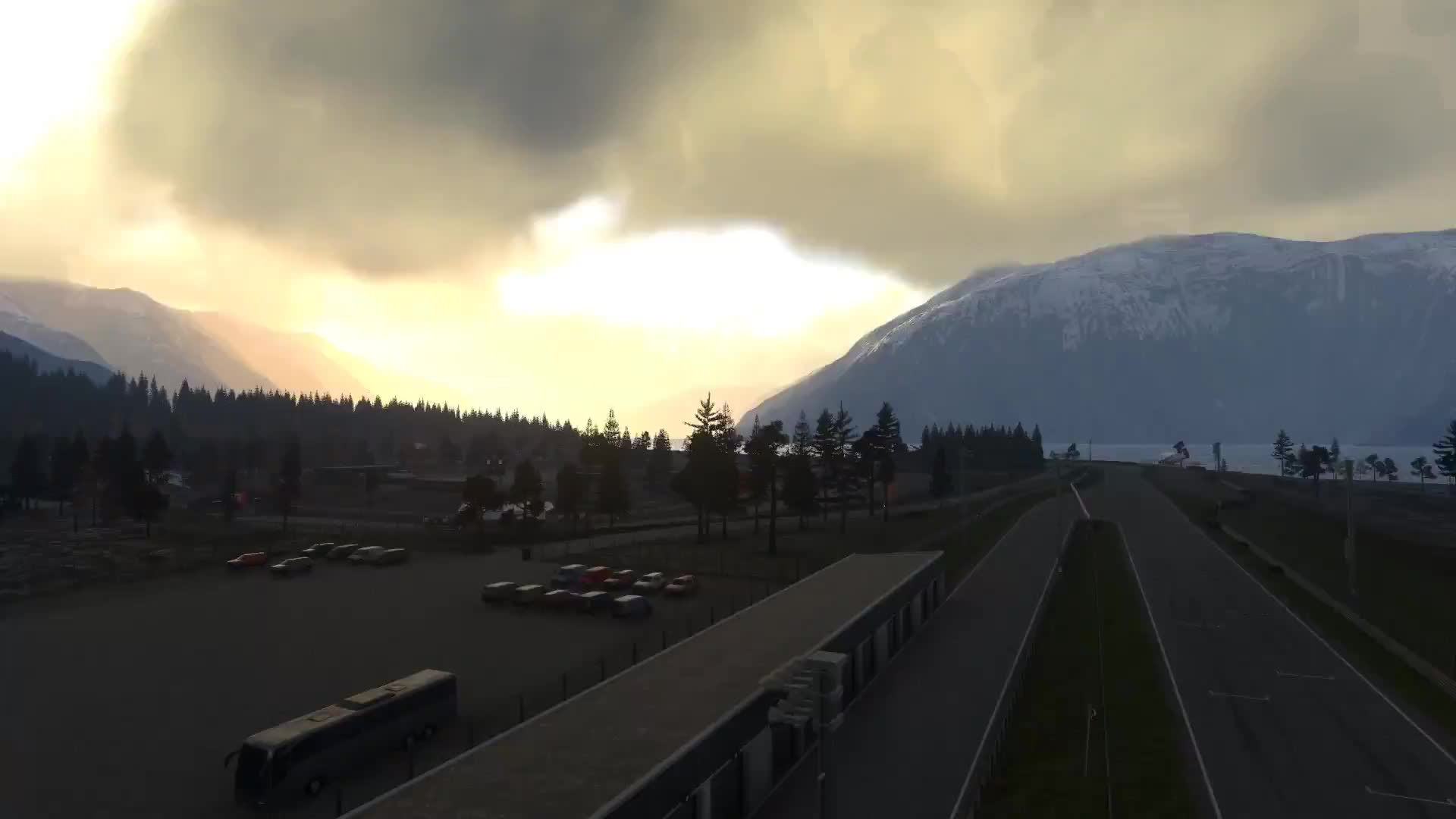 driveclub, norway, playstation, DRIVECLUB Norway Sognefjord time-lapse GIFs