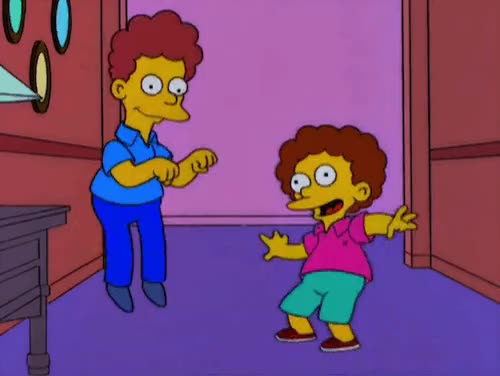 Imagination Christmas! : TheSimpsons GIFs