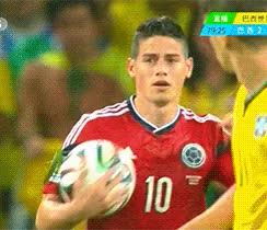 Watch and share James Rodriguez GIFs on Gfycat