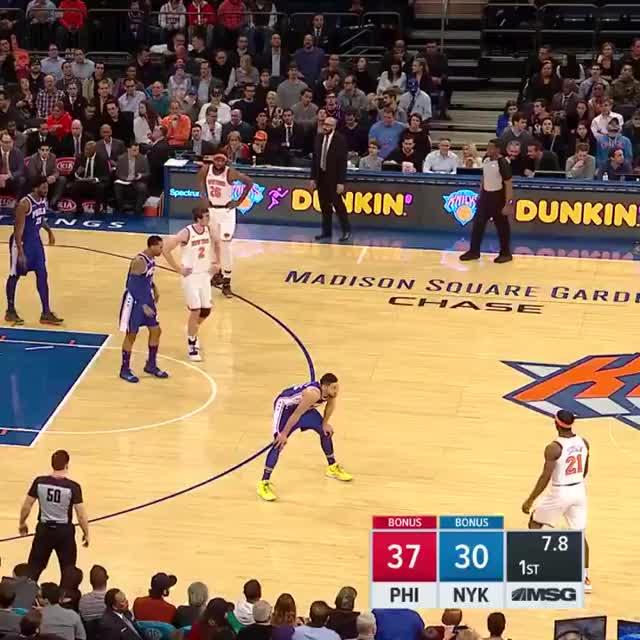 Watch and share Philadelphia 76ers GIFs and New York Knicks GIFs on Gfycat