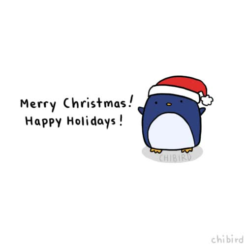 Watch and share A Holiday Penguin To Boost Your Spirit! Hope You All Are Resting And Eating Great Food And Spending Time With People You Love. <3 GIFs on Gfycat