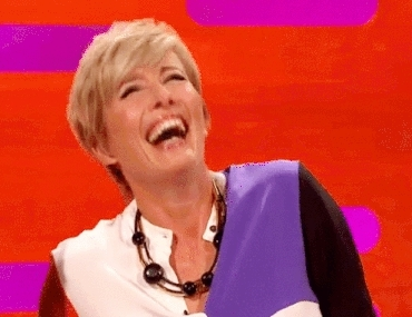 Emma Thompson, her smile, my inspiration, she's queen, shes adorable, too cute, Emma Thompson GIFs