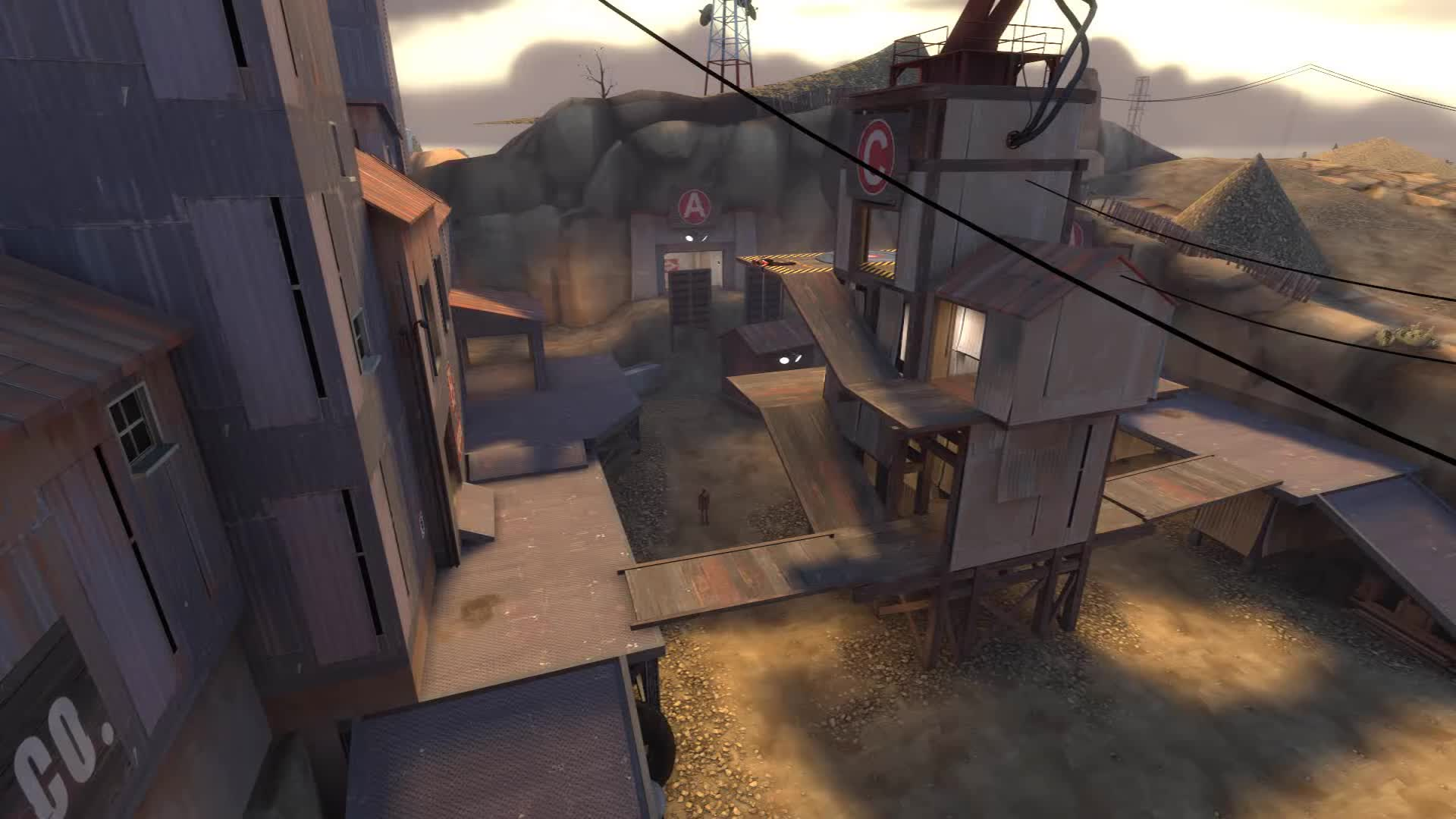 Fortress, Garry's, Gmod, Heavy, Mod, Sniper, Spy, TF2, Team, jarate, Spy challenges Heavy for a fight GIFs