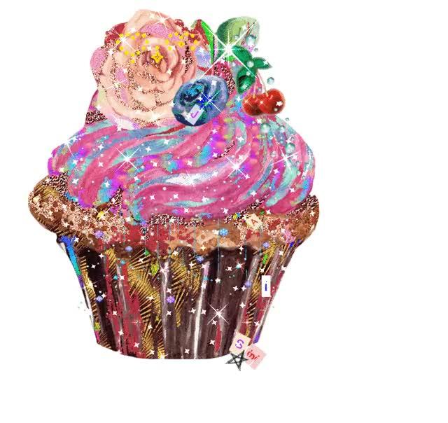 Watch and share Art Cupcake Jaisini GIFs and Cupcake Gif Jaisini GIFs by Ryan ReModernist Keller on Gfycat