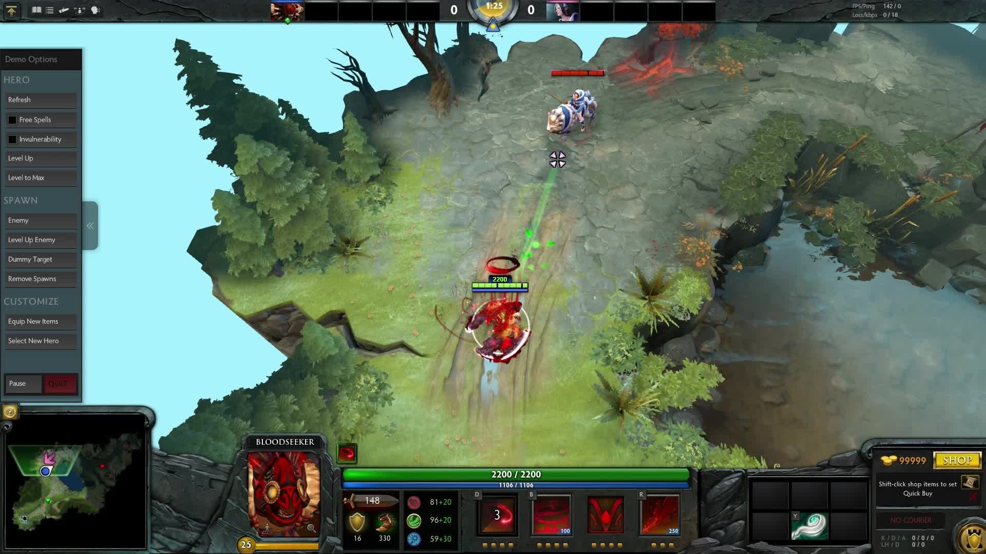 TrueDoTA2, learndota2, Hero Discussion - Bloodseeker (reddit) GIFs