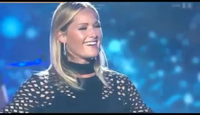 Watch and share Helene Fischer - Interview @ Hello Again 6/5/2017 W/Engl. Subt. GIFs on Gfycat