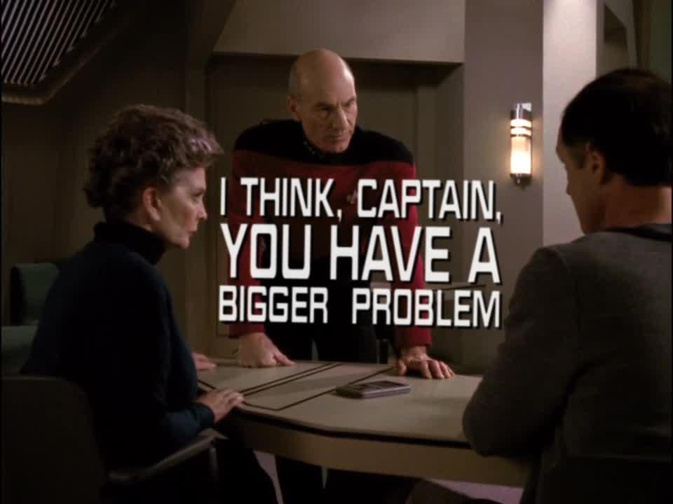 celebs, patrick stewart, Klingon problem GIFs