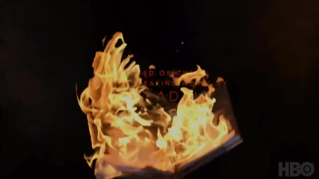 Watch Fahrenheit 451 (2018) | Teaser Trailer | HBO GIF on Gfycat. Discover more 2018, All Tags, Beatty, Drama, Fire, Sci-fi, books, burn, burning, films, fireman, hbo, movie, rebel, teaser GIFs on Gfycat
