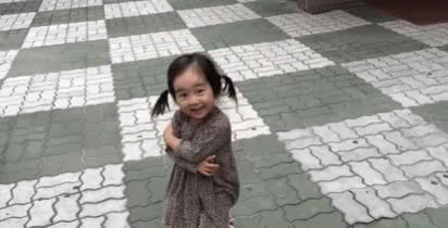 Watch this awww GIF by The GIF Smith (@sannahparker) on Gfycat. Discover more adorable, awww, cute, excited, girl, happy, precious, squeaky shoes, toddler, twirling GIFs on Gfycat