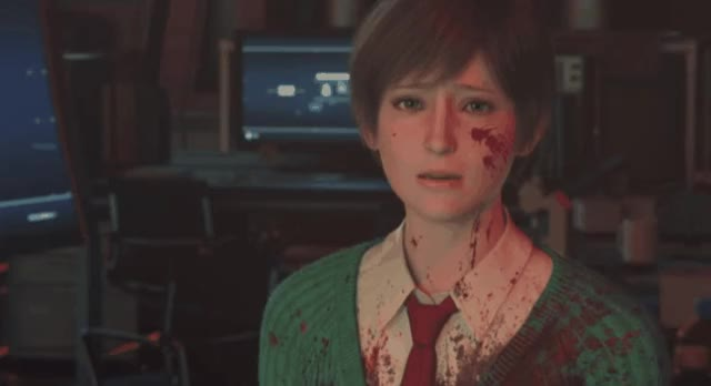 Watch and share Resident Evil Vendetta - Rebecca Chambers [OKY] GIFs on Gfycat
