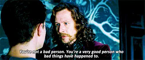 Watch this GIF on Gfycat. Discover more Gary Oldman, bad person, harry potter, harry potter and the order of the phoenix, magic, order of the phoenix, quote, sirius black, the boy who lived, unkle luc, wizard GIFs on Gfycat