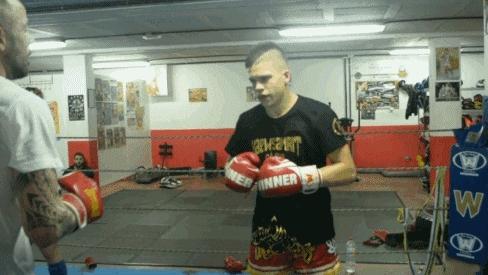fightergifs, muaythai, training, Kaewsamrit Galdar GIFs