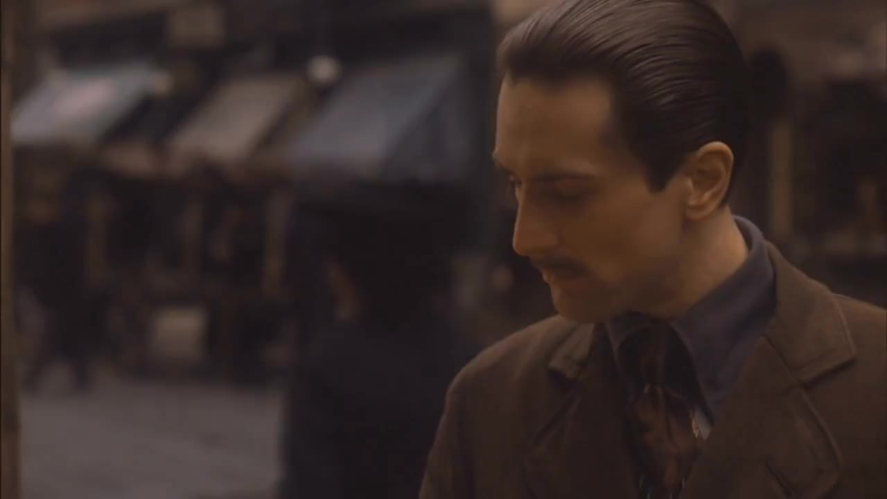 godfather, robert de niro, the godfather, Godfather part II (1974) Michael Corleone Talks to His Mother (HD) GIFs