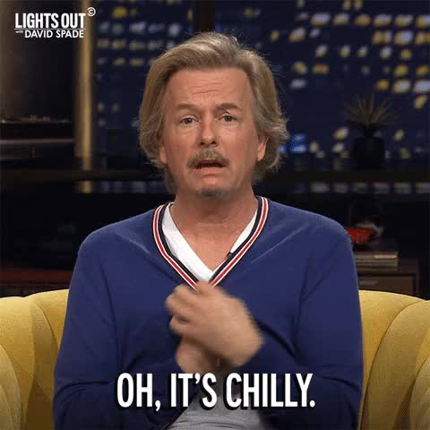 Watch and share David Spade GIFs and Cold GIFs on Gfycat