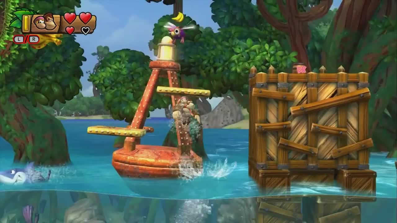 Donkey Kong Country Tropical Freeze Gifs Search | Search & Share on