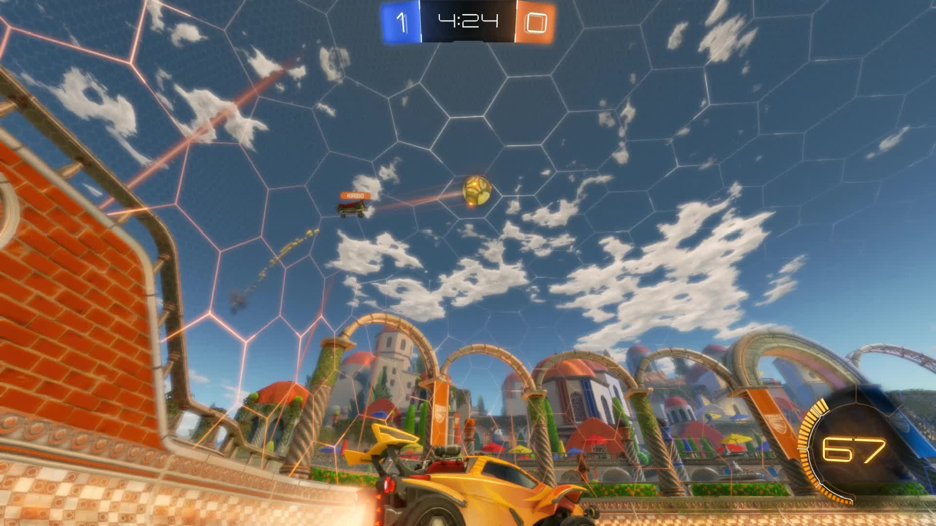 Gif Your Game, GifYourGame, Goal, Rocket League, RocketLeague, Traceur YT, Goal 2: Traceur YT GIFs